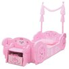 Delta Children Disney Princess Carriage Twin Convertible Toddler Bed