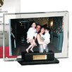 Andrew Philips Florentine Napa Leather and Acrylic Picture Frame