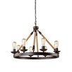 Artcraft Lighting Danbury 8 Light Chandelier