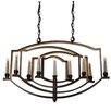 Artcraft Lighting Perceptions 9 Light Candle Chandelier