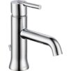 Delta Trinsic Single Handle Centerset Bathroom Faucet