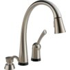Delta Pilar Single Handle Deck Mounted Kitchen Faucet
