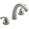 Delta Classic Double Handle Deck Mount Roman Tub Faucet Trim