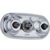Delta Xo Jet Module Six Function Diverter Shower Faucet Trim with Lever Handle