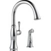 Delta Cassidy Single Handle Kitchen Faucet with Spray