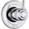 Delta Diverter Faucet Trim with Lever Handles