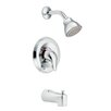 Moen Chateau Posi-Temp Thermostatic Tub and Shower Faucet  with Lever Handle