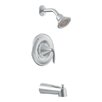 Moen Eva Posi-Temp Tub and Shower Faucet Trim with Lever Handle