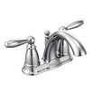Moen Brantford Two Handle Centerset Bathroom Faucet