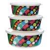 French Bull Bindi 3 Piece Cake Tin Set