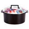 French Bull Gala Super Cooker 1.9-qt. Ceramic Round Dutch Oven