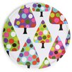 """French Bull Dot Tree 10.5"""" Cookie Platter"""