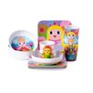 French Bull Princess Melamine Kids Bowls 4 Piece Set