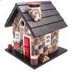 Home Bazaar Cottage Charmer Series Windy Ridge Freestanding Bird House