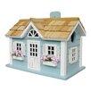 Home Bazaar Fledgling Series Nantucket Cottage Mounted Birdhouse