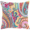 Pine Cone Hill Lyric Paisley Embroidered Throw Pillow