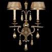 Fine Art Lamps Golden Aura 2 Light Wall Sconce