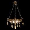 Fine Art Lamps Encased Gems 3 Light Pendant