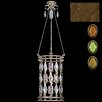 Fine Art Lamps Encased Gems 6 Light Foyer Pendant