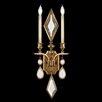 Fine Art Lamps Encased Gems 2 Light Wall Sconce