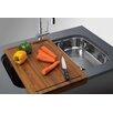 "Franke Oceania 29.94"" x 18.94"" Under Mount Kitchen Sink"