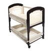 Arm's Reach Cambria Wood CV Quilted Co-Sleeper