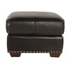 Lazzaro Leather Belaire Leather Ottoman