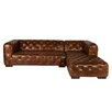 Lazzaro Leather Manhattan Sectional