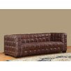 Lazzaro Leather Nautical Leather Sofa