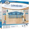 """Four Paws 53-96"""" Vertical Wood Slat Gate"""
