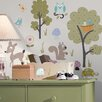 Room Mates Studio Designs Woodland Animals Wall Decal