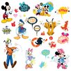 Room Mates Mickey and Friends Animated Fun Wall Decal