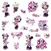 Room Mates Mickey and Friends Minnie Fashionista Wall Decal