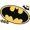 Room Mates Popular Characters Batman Logo Dry Erase Wall Decal