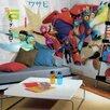 Room Mates Prepasted Big Hero 6 XL Ultra Strippable Wall Mural