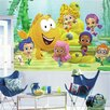 Room Mates Prepasted Bubble Guppies XL Ultra Strippable Wall Mural