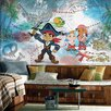 Room Mates Captain Jake and the Never Land Pirates Chair Rail Prepasted Wall Mural