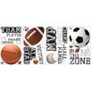 Room Mates Studio Designs All Star Sports Saying Wall Decal