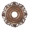 "Minka Aire Napoli 22"" Ceiling Medallion in Tuscan Patina"