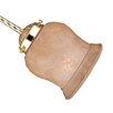 "Minka Aire 5.25"" Glass Bell Ceiling Fan Fitter Shade"