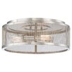 Minka Lavery Downtown Edison 3 Light Flush Mount