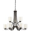 Minka Lavery Parsons Studio 9 Light Candle Chandelier