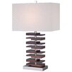 "Minka Lavery Ambience 28.25"" H Table Lamp with Rectangular Shade"