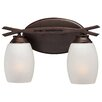 Minka Lavery City Club 2 Light Bath Vanity Light