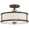 Minka Lavery Thorndale 3 Light Semi-Flush Mount