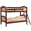 InRoom Designs Arched Twin Bunk Bed