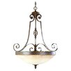 Savoy House Segobriga 4 Light Inverted Pendant