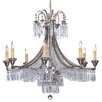 Savoy House Pyramid 8 Light Crystal Chandelier