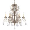 Savoy House Barcelona 6 Light Crystal Chandelier