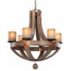 Savoy House Olaf 6 Light Chandelier